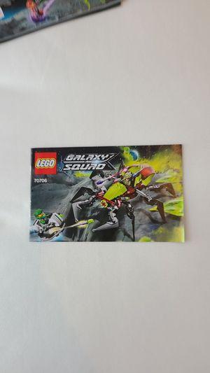 Lego Galaxy Squad 70706 Crater Creeper for Sale in Irvine, CA
