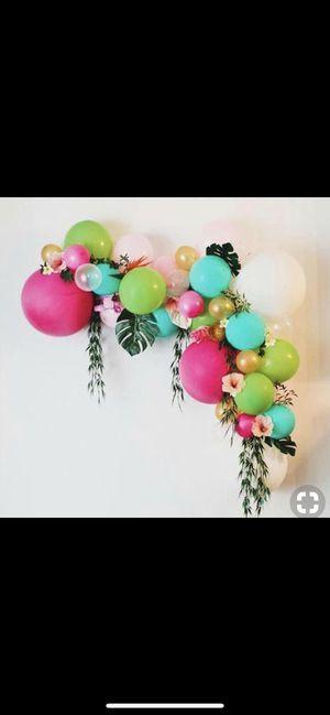 Luau party balloon decorations for Sale in Lake Ridge, VA