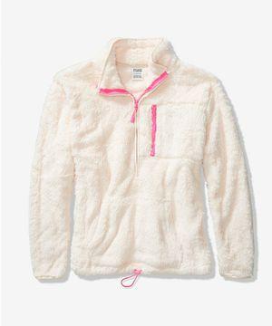 Victoria's Secret PINK-Teddy Bear Half Zip for Sale in Saint CLAIRSVLE, OH