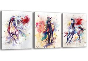 Colorful Horse Pictures Framed Wall Art for Sale in Chicago, IL
