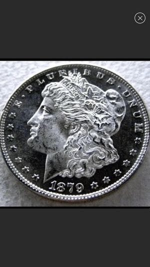 Valuable PROOF 1879S Morgan Silver Dollar- Rare Deep Cameo Mirrored Surfaces- Unbelievable Mirrors- High Value Beauty! for Sale in Fairfax, VA