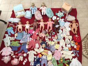 Huge Lot Bitty Baby American Girl Doll Lot Many Rare Items for Sale in West Palm Beach, FL