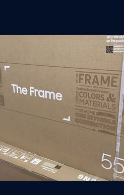 55 INCH SAMSUNG FRAME 4K SMART TV for Sale in Chino,  CA