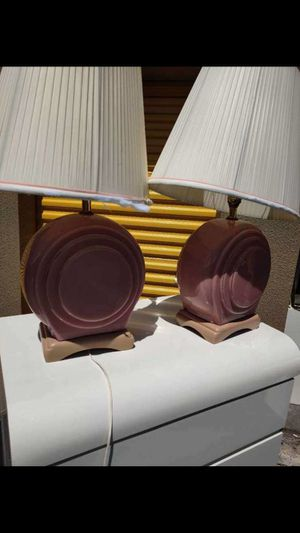 Two matching lamps for Sale in Boynton Beach, FL