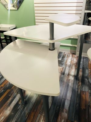 Round 3-Tier White Table. Display your items in style! for Sale in Florissant, MO