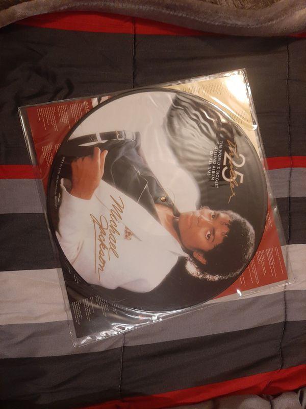 Michael Jackson vinyl - NEW