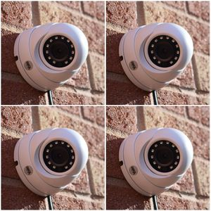 4 1080p Security cameras with memory and labor included.. hablo espanol for Sale in Fort Worth, TX