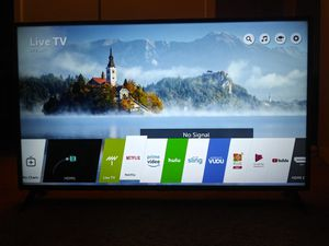 """LG 49"""" 4k HDR Smart LED UHD TV for Sale in Clearwater, FL"""