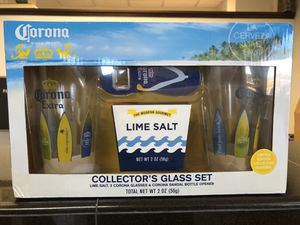 Corona collectible glass set for Sale in Stockton, CA