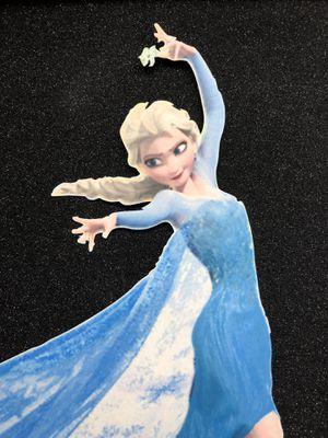 Frozen Elsa Birthday Princess Centerpiece/ Cake Topper for Sale in Clarksburg, MD