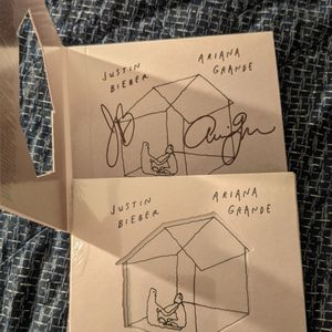 Stuck With U Signed by Ariana Grande and Justin Bieber for Sale in Nashville, TN