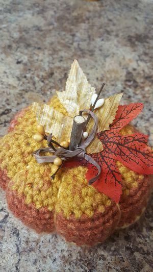 crochet pumpkin,med. for Sale in Manassas, VA