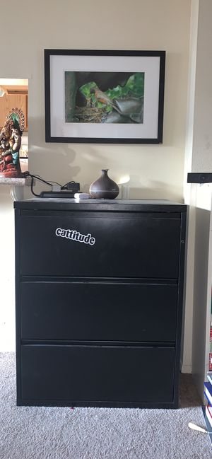 3 Drawer File Cabinet for Sale in Los Angeles, CA