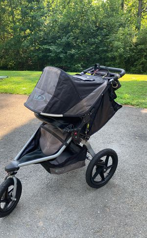 BOB single stroller, parent console, car seat adapter for Sale in Fredericksburg, VA