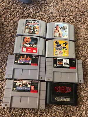 N64 Super Nintendo and sega for Sale in Salt Lake City, UT