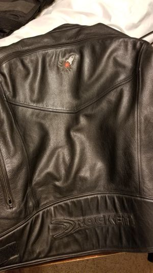 Joe Rocket Super Ego Leather Motorcycle Jacket 2xl for Sale in Kathleen, GA