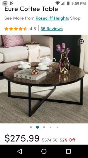 NIB Eure coffee table for Sale in Hilliard, OH