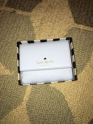 Kate spade baby blue small wallet for Sale in Rockville, MD