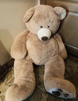"Jumbo Giant HUGFUN 53"" Big Teddy Bear Plush Stuffed Animal Light Brown Tan for Sale in Etiwanda, CA"