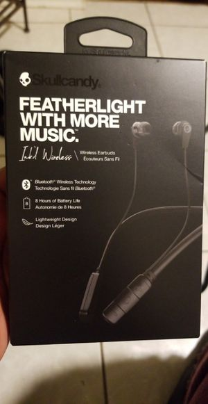 SKULLCANDY ink wireless headphones for Sale in Bolingbrook, IL