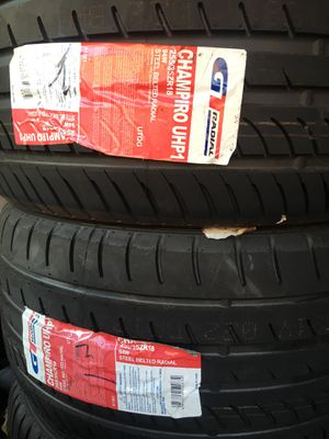 GT Radial Champiro UHP1 255/35/18 - New Tires for Sale in West Covina, CA