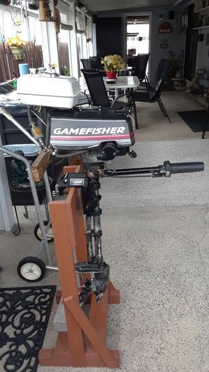 Gamefisher outboard motor for Sale in Menifee, CA