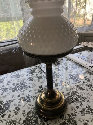 Antique lamp brass in great working condition only $20 for Sale in San Bernardino, CA