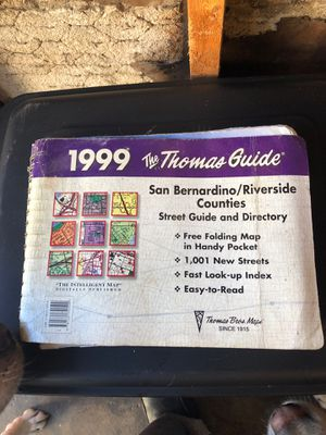 Thomas guide for Sale in South Gate, CA