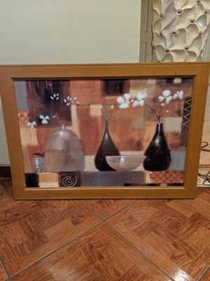 Wood painting frame for Sale in Pico Rivera, CA