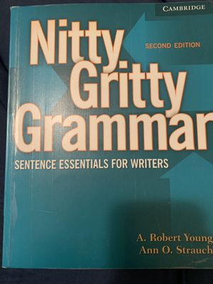Cambridge Nitty Gritty Grammar for Sale in Medley, FL