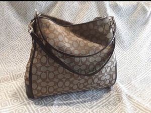 Authentic Coach Hobo Brown/Tan Purse for Sale in Las Vegas, NV