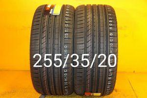 2 New tires 255/35/20 Llantas nuevas for Sale in Chula Vista, CA