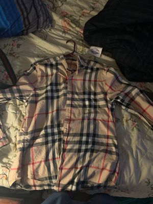 AUTHENTIC BURBERRY SHIRT for Sale in Houston, TX
