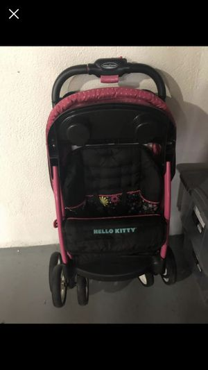 Hello kitty baby trend stroller for Sale in Taylor, MI