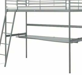 Ikea Loft bed with Desk for Sale in Washington,  DC