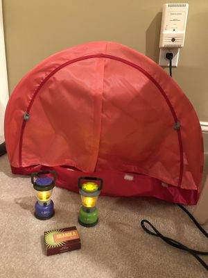 American Girl camping tent for Sale in Sudbury, MA