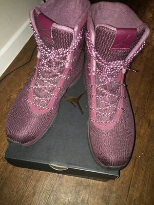 Size 9 1/2 Jordan boots perfect condition. Even Still has the price tag sticker on the bottom. for Sale in Dallas, TX