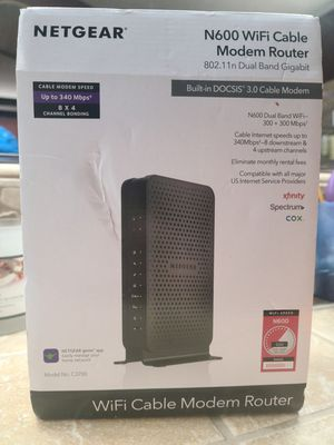 Netgear modem/router for Sale in Lincoln, CA
