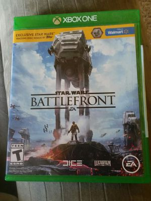Star Wars BattleFront with Case for Sale in Sunbury, OH
