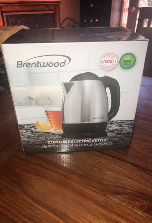 Brentwood cordless electric kettle for Sale in Los Angeles, CA