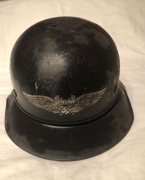 Luftschutz German warrior helmet WW2 for Sale in Stockton, CA