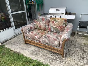Outdoor furniture both couch and loveseat $150 for both for Sale in Palm Harbor, FL