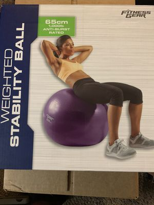 Weighted Stability Ball for Sale in Westerville, OH