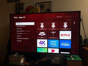 "55"" TCL ROKU 120 HZ LED SMART TV model 55us5800 for Sale in Mill Creek, WA"