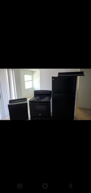 GE ,fridge,stove dishwasher and hood range for Sale in Aloma, FL