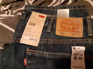 Mens Levis 560 Comfort fit 38. 34 for Sale in Saint Charles, MO