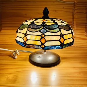 Semi Flush Mount Stained Glass Light Lamp for Sale in Wells, ME
