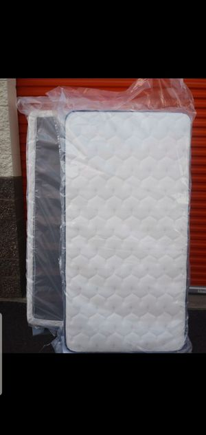 Twin size mattress and boxpring for Sale in Pacific, WA