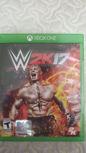 Wwe 2k17 Xbox One for Sale in Chicago, IL