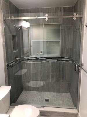 Glass shower doors $25 per sq ft for Sale in Hollywood, FL
